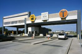 Addison Airport Tunnel Sign